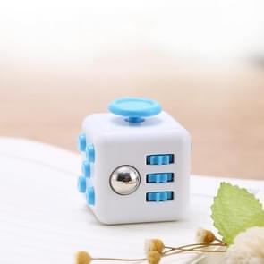 3 STUKS Decompressie Cube Toy Adult Decompressie Dobbelstenen  Kleur: Wit+Blauw