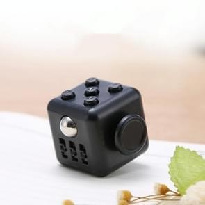 3 STUKS Decompressie Cube Toy Adult Decompressie Dobbelstenen  Kleur: All Black
