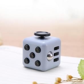 3 STUKS Decompressie Cube Toy Adult Decompressie Dobbelstenen  Kleur: Grijs + Zwart