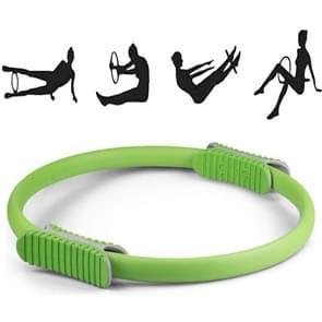 Yoga Pilates Ring Yoga Body Fitness Magic Circle  Binnendiameter: 32cm (Groen)