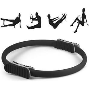 Yoga Pilates Ring Yoga Body Fitness Magic Circle  binnendiameter: 32cm (zwart)