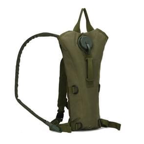 Water tas militaire tactische hydratatie rugzak Outdoor Camping Camelback nylon kameel water blaas zak voor fietsen 3L (ARMY GREEN)
