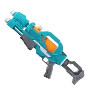 Childrens Pull-out Water Toy Large Double Water Spray Gun Summer Beach Play Toys (Blauw)