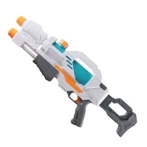 Childrens Pull-out Water Toy Large Double Water Spray Gun Summer Beach Play Toys (Wit)