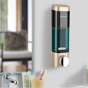 Bosharon Shampoo Douche Gel Box Household Hand Sanitizer Box Badkamer Muur gemonteerde Punch-free Double-head Soap Dispenser  Style: Single Grid (Goud)