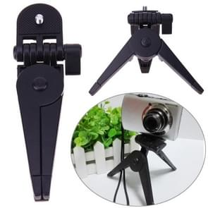 Draagbare mini statief rotatie Desktop handvat stabilisator vouwen Tripod stand voor mobiele telefoon camera