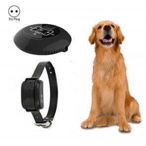 Electronic Fence Wireless Pet Training Device Bark Stop  Plug Type:EU Plug(With 1 Collar)