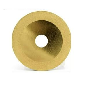 100mm Electroplated Diamond Grinding Slice Glass Grinding Disc 4 Inch Diamond Cutting Piece Alloy Sand Circular Saw Blade (Picture Four)