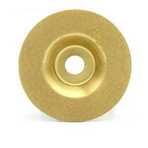 100mm galvanische Diamantslijpen segment glas slijpen Disc 4 inch diamant snijden stuk legering zand circulair zaagblad (afbeelding zes)