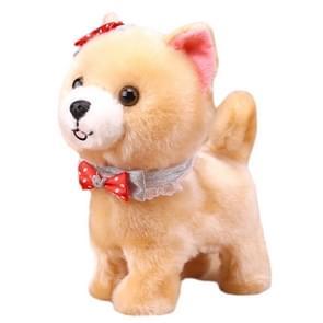 Intelligente simulatie pluche elektrische speelgoed hond kinderen gift van de verjaardag