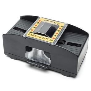 HC01345 2 stks automatische elektrische kunststof Shuffling machine schaakspel tool