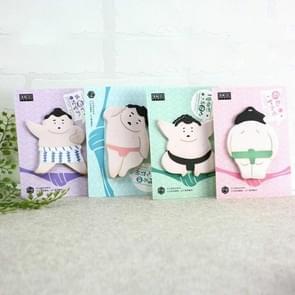 4 stuks Sumo stijl Memo pad Sticky Notes Memo Kladblok school kantoor levering  willekeurige kleur levering