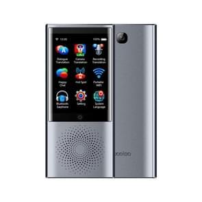 Boeleo W1 2 8 Inch scherm stem vertaler Smart Business Travel AI vertaling Machine 4G netwerk 1 G + 8G 45 talen Translator(Grey)