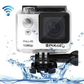 PULUZ U6000 Full HD 1080P 2.0 inch LCD scherm WiFi waterdicht Multi-functioneel Sport Action Camcorder, Novatek NT96650 Chipset, 175 graden groothoeklenswit