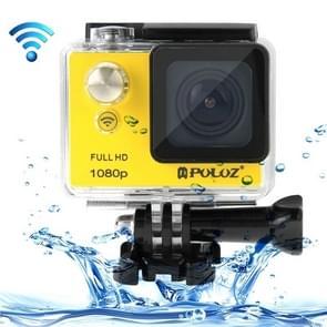 PULUZ U6000 Full HD 1080P 2.0 inch LCD scherm WiFi waterdicht Multi-functioneel Sport Action Camcorder, Novatek NT96650 Chipset, 175 graden groothoeklens(geel)