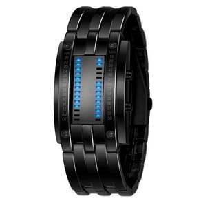 SKMEI multifunctionele man outdoor Fashion Noctilucent waterdichte LED digitale horloge (zwart)