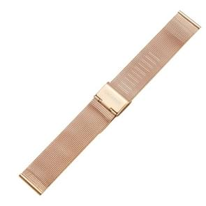 CAGARNY eenvoudige Fashion horloges Band metalen armbanden  breedte: 18mm(Gold)