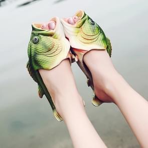 Vissen stijl EVA materiaal zomer strand sandalen simulatie vis strand Slippers voor mannen  grootte: 43 werf