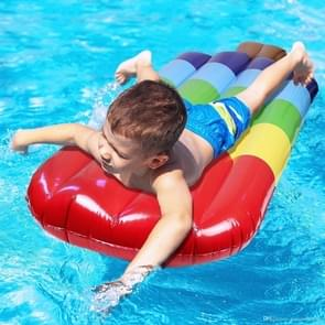 Inflatable Popsicle Shaped Floating Mat Swimming Ring  Inflated Size: 145 x 46cm