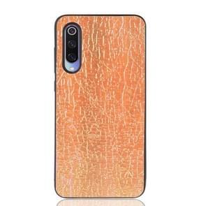 Magische kleur PU + TPU beschermende case voor Xiaomi mi 9 (goud)