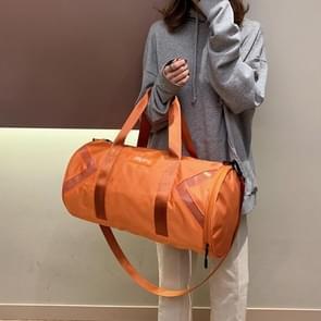 Nylon schuine schouder tas Bagage Handtas (oranje)