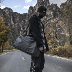 Nylon schouder Travel Bag recreatieve Sport handtas (grijs)