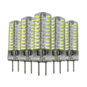 5 stuks YWXLight GY6.35 5W 80LEDs SMD 4014 energiebesparende LED siliconen Lamp (koud wit)