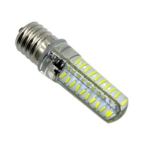 YWXLight E17 5W 80LEDs SMD 4014 energiebesparende LED siliconen Lamp (koud wit)