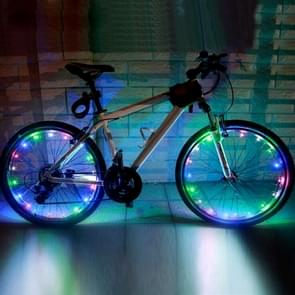YWXLight 2m 20LEDs LED Bicycle Wheel Light Waterproof Safety Lamp for Night Cycling Spoke Accessories