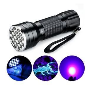 YWXLight UV 21 LEDs 395NM Ultra Violet zaklamp LED zaklamp licht lamp detector voor hond urine Pet vlekken