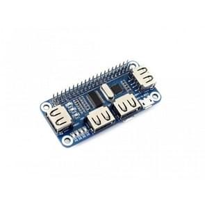 Waveshare 4 Port USB HUB HAT voor Raspberry Pi