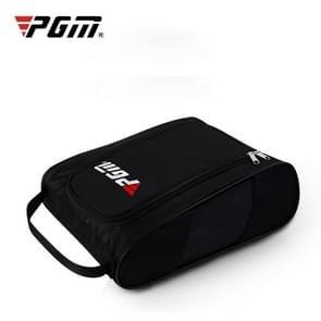 PGM Golf handige en ademend slijtvaste nylon Shoe Bag (zwart)