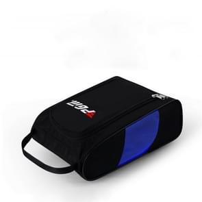 PGM Golf handige en ademende slijtvaste nylon Shoe Bag (zwart blauw)