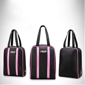 PGM draagbare duurzaam Golf PU Shoe Bag voor vrouwen (zwart)