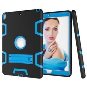 Contrast kleur silicone + PC schokbestendig geval voor iPad Air 2019 10 5 inch/Pro 10 5 inch  met houder