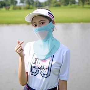 PGM Golf stofbescherming nek zonnebrandcrème masker buitensport masker (blauw)