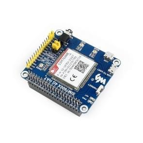 Waveshare 4G/3G/2G/GSM/GPRS/GNSS HAT voor framboos Pi  LTE CAT4  voor Zuidoost-Azië  West-Azië  Europa  Afrika