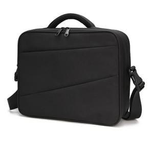 Multi-functionele draagbare reizen nylon waterdichte anti-shock schouder opslag geval Cross Body tas voor DJI Mavic 2 Pro/zoom (zwart)