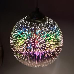Mooie 3D magische bol gebrandschilderd glas plafondlamp hanglamp voor slaapkamer woonkamer studie restaurant bar koffiehuis gangpad Hall