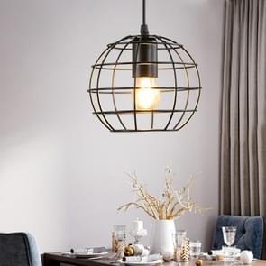 YWXLight smeedijzer kunst Globe vormige frame plafondlamp hanglamp voor Restaurant Bar Cafe House