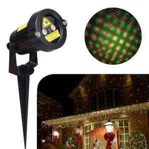 YWXLight Outdoor Lawn Lights Kerst Laser Licht Omgevingslicht IP65 Waterdicht (EU)