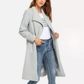 Vrouwen Wollen lange jas