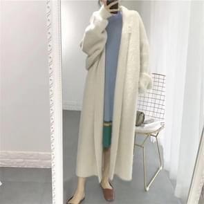 Losse vleermuis plus grootte verdikt nightgown vrouwen gebreide vest trui jas (kleur: groene maat: gratis maat)