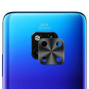 De Lens van de Camera van de achterkant van de Enkay hoed-Prins Metal beschermhoes voor Huawei Mate20 Pro (zwart)