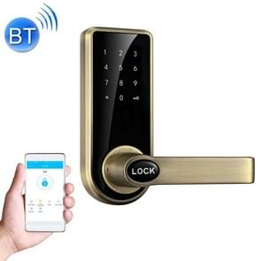 OS8818BLE Phone APP Control Zinc Alloy Touch Screen Smart Bluetooth V4.0 Door Lock Password Home Security Access Control System(Bronze)