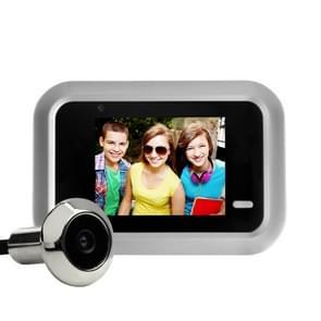 X8 2 4 inch Scherm 2.0MP Beveiligingscamera Geen storen Peephole Viewer  Ondersteuning TF-kaart