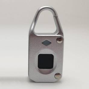 USB Charging Anti-theft Electronic Smart Fingerprint Lock, Support up to 10 Fingerprints Memory(Silver)
