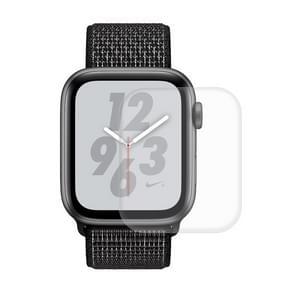 ENKAY Hat-Prins 3D volledig scherm PET gebogen warmte buigen HD Screen Protector voor Apple Watch serie 4 44mm