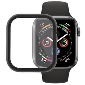 Metal Front Frame Protective Case for Apple Watch Series 4 44mm (Black)
