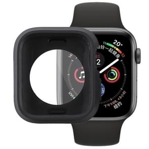 volledige siliconenhoes voor Apple Watch serie 4 44mm(Black)
